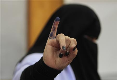 With Mubarak Gone, Egyptians Vote Freely For Leader