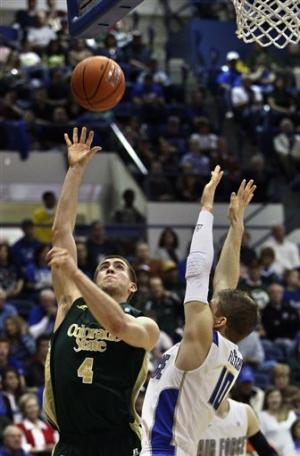 Green lifts No. 24 Colorado St. past Air Force