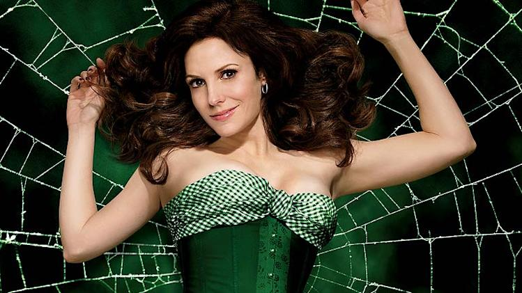 "Mary-Louise Parker stars as Nancy Botwin in season 5 of ""Weeds."""
