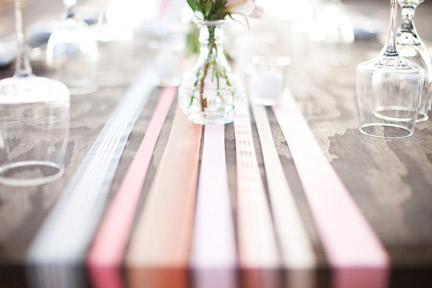 Make a Ribbon Table Runner