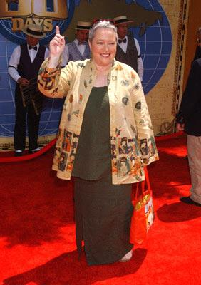 Premiere: Kathy Bates at the Hollywood premiere of Walt Disney's Around the World in 80 Days - 6/13/2004