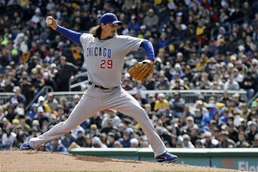 Samardzija shines as Cubs down Pirates 3-1