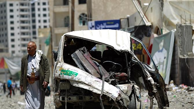 Saudi Arabia and its Arab allies launched the air war on March 26 in an attempt to restore the authority of President Abedrabbo Mansour Hadi, who was forced to flee abroad last month as the rebels swept across the country