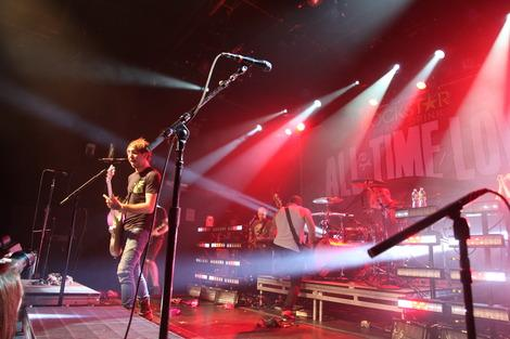 All Time Low Rocks for Breast Cancer Awareness in New York City