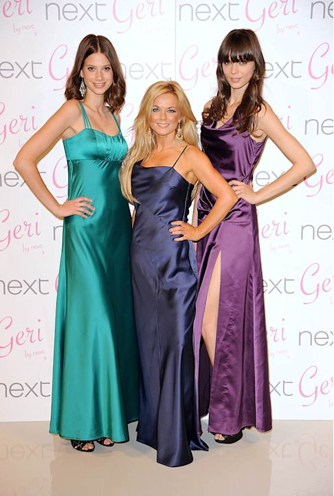 Geri Halliwell Dress Launch