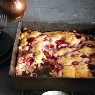 Bushberry pudding cake recipe
