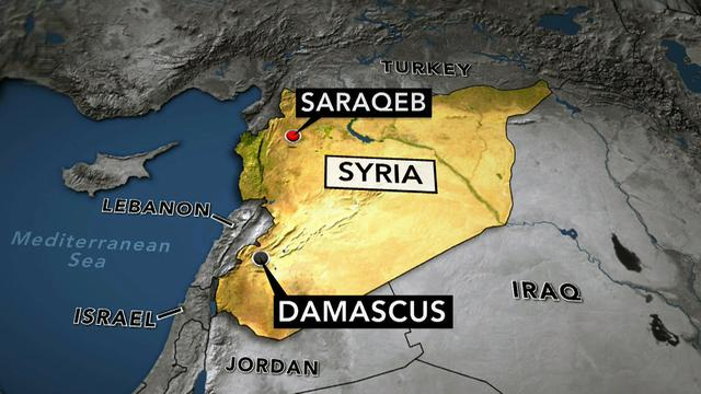Red Cross aid team kidnapped in Syria