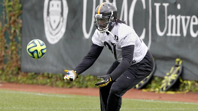 Blount ready to do dirty work for Steelers