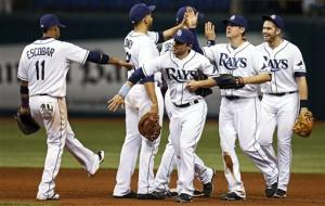 Moore gets 6th win, Rays beat Blue Jays 10-4