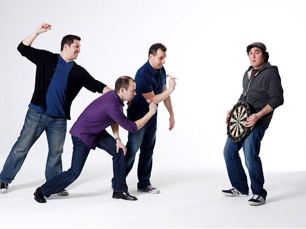 The cast of &quot;Impractical Jokers.&quot; 