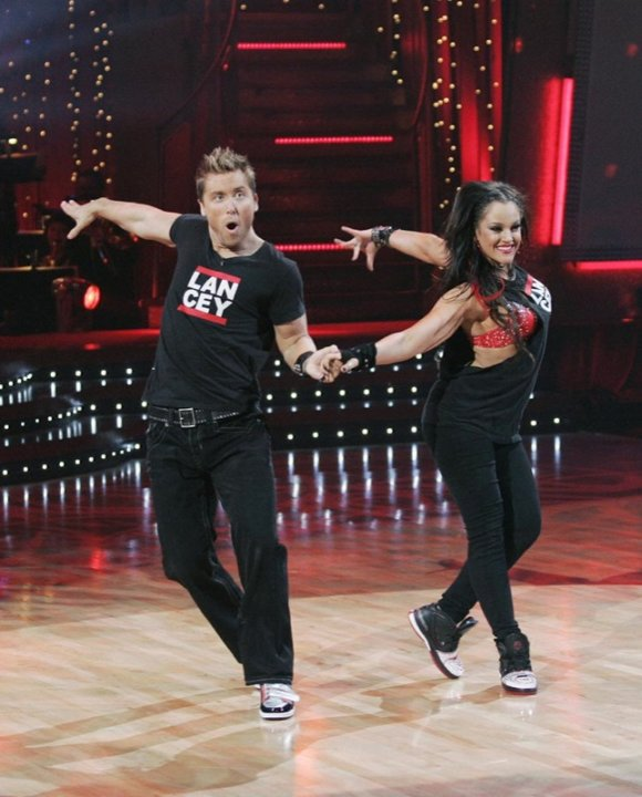 Lance Bass and Lacey Schwimmer …