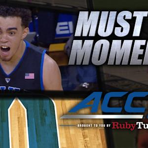 Duke's Tyus Jones Delivers Knockout Punch vs Virginia | ACC Must See Moment