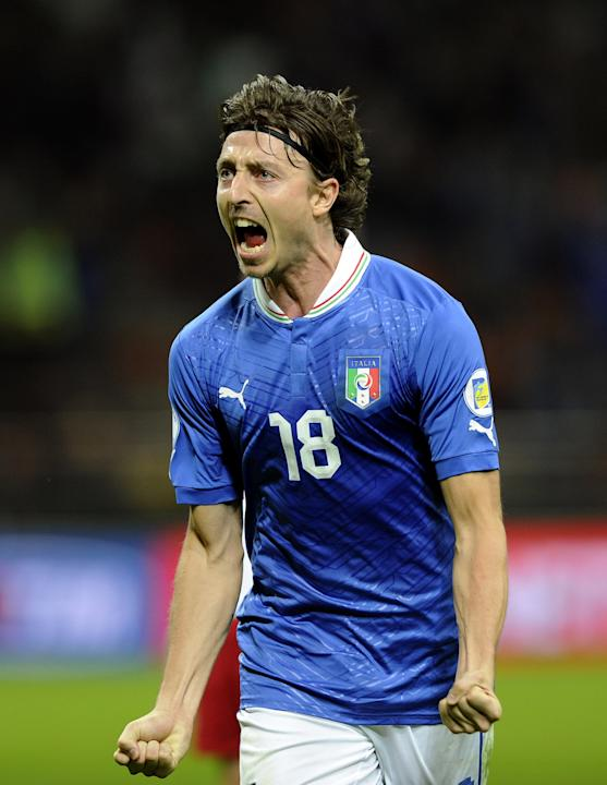 Italy v Denmark - FIFA 2014 World Cup Qualifier