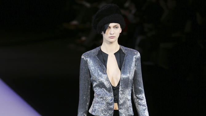 Milan designers propose assertive winter looks