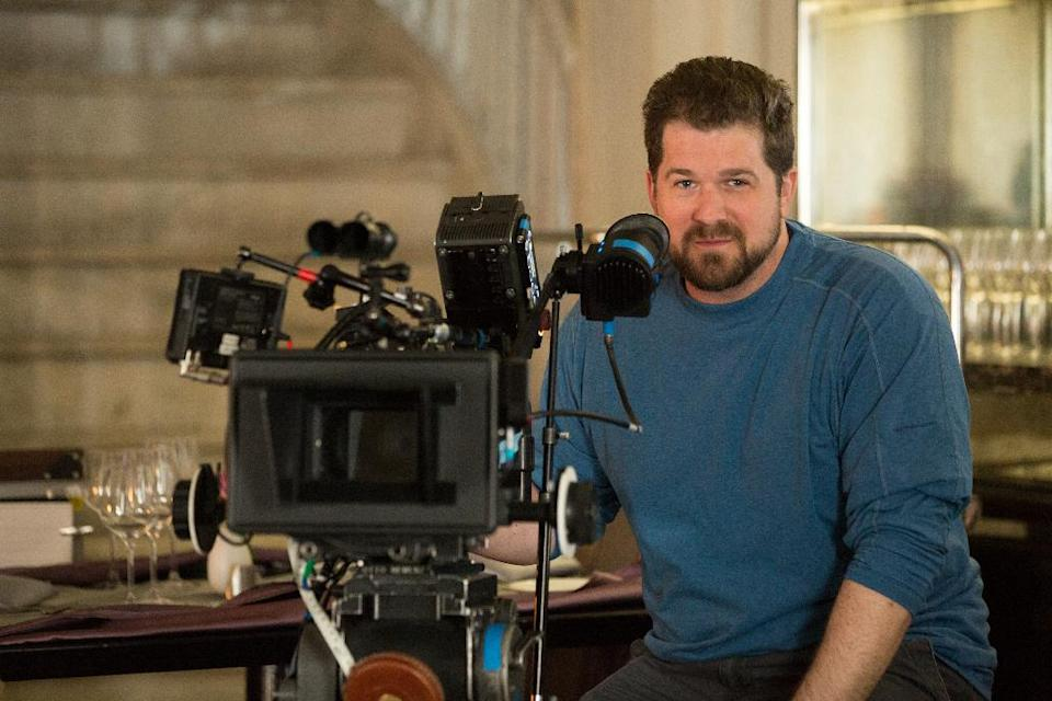 "This undated publicity image released by Universal Pictures shows director Seth Gordon on the set of ""Identity Thief."" (AP Photo/Universal Pictures)"