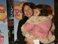 &quot;Pampita&quot; y su hija blanca hace cuatro aos, en el estreno de una obra teatral. (Foto: Gentileza Prensa Reinas Magas)