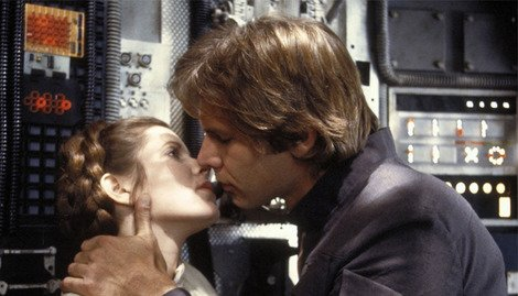 Will Han and Leia live happily ever after? Not if Carrie Fisher has her way...