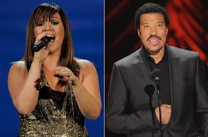 Kelly Clarkson/Lionel Richie -- Getty Images
