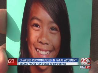Charges recommended in fatal accident