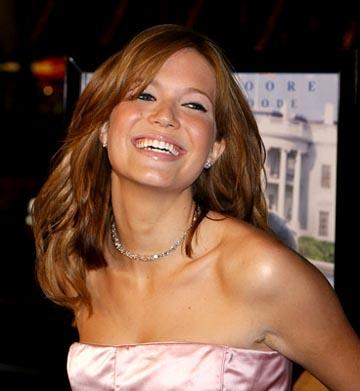 Mandy Moore at the LA premiere of Chasing Liberty
