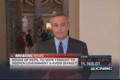 House to vote on budget & debt plan tonight