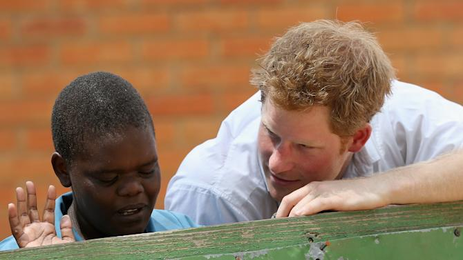 Prince Harry Visits Lesotho