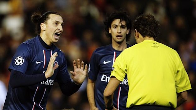 Zlatan Ibrahimovic Javier Pastore