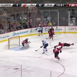 Cory Schneider Save on Blake Wheeler (04:23/3rd)
