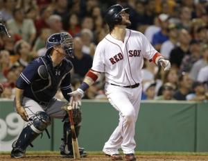 Gomes' homer in bottom of 9th gives Boston 2-1 win