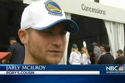Rory McIlroy's fake cousin 'Jarly McIlroy' fools TV network into interviewing him