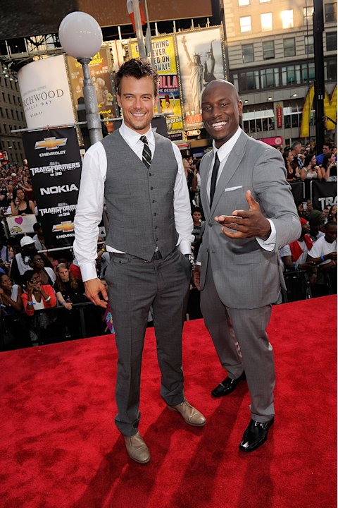 Transformers Dark of the Moon NY Premiere 2011 Josh Duhamel Tyrese Gibson