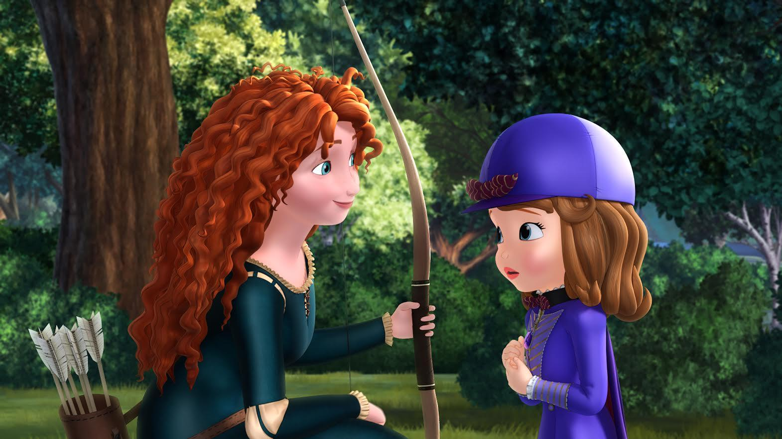'Brave' Princess Merida to Appear on Disney Junior's 'Sofia the First'