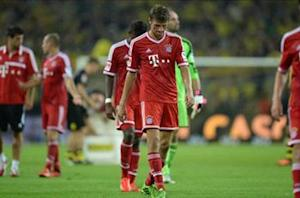 Bayern not good enough against Dortmund, says Muller