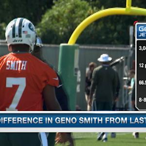 Kim Jones on the changes in New York Jets quarterback Geno Smith