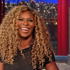 Serena Williams Talks Career Tennis Stats with David Letterman