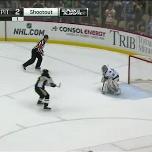 Sidney Crosby Goal on Alex Stalock (00:00/SO)