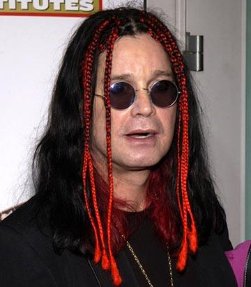 Ozzy Osbourne at the LA premiere of Paramount's The School of Rock