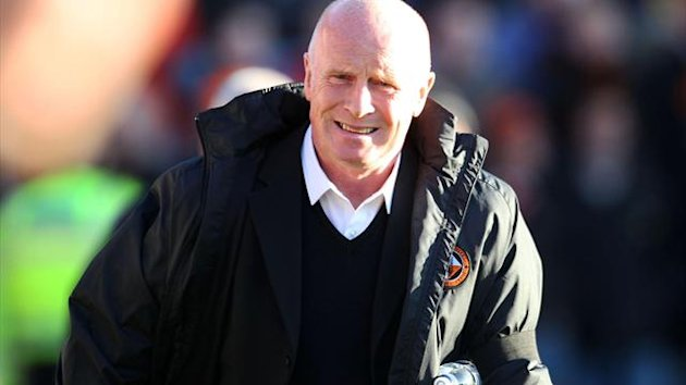 United boss Peter Houston was given permission to speak to Blackpool