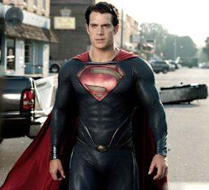 Henry Cavill seen in 'Man Of Steel' -- Warner Bros