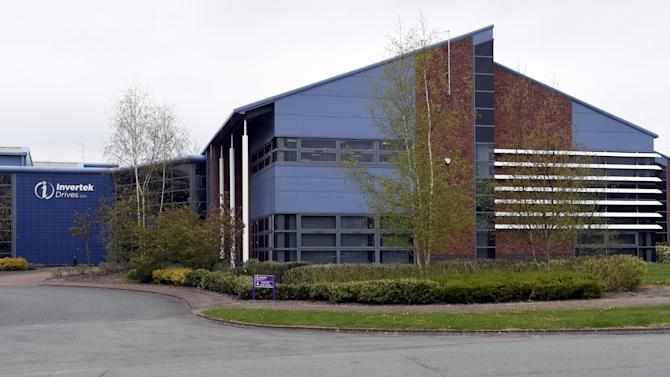 Headquarters of Invertek Drives is seen in Welshpool, Wales