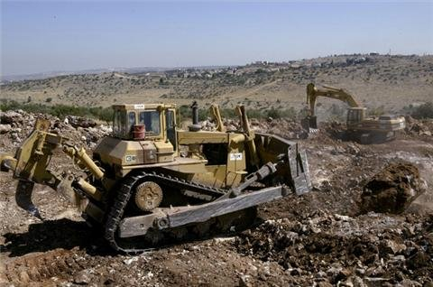 Caterpillar cut from social index over Israel
