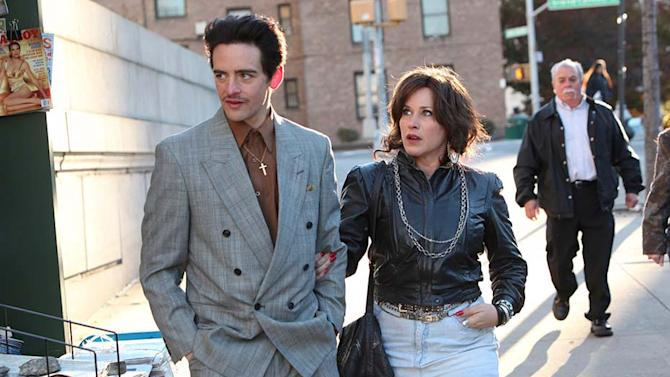 """This image released by the Tribeca Film Festival shows Vincent Piazza, left, and Patricia Arquette in a scene from the New York mafia drama, """"The Wannabe,"""" which will premiere at the Tribeca Film Festival. The festival runs April 15-26. (AP Photo/Tribeca Film Festival, Thomas Concordia)"""