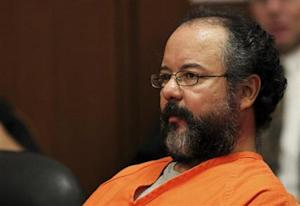 Ariel Castro, 53, sits in the courtroom during his sentencing for kidnapping, rape and murder in Cleveland