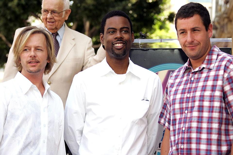 Chris Rock David Spade Adam Sandler 2005
