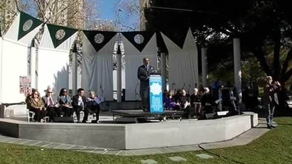 Dr. Martin Luther King Jr. honored at event in SF