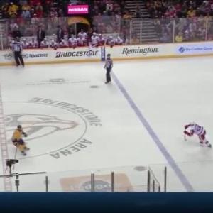 Red Wings at Predators / Game Highlights