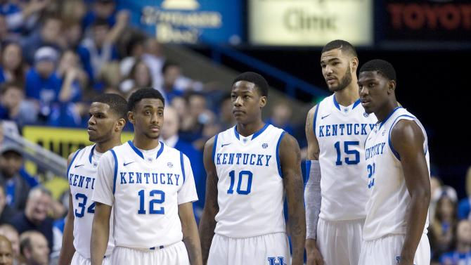 NCAA Basketball: Auburn at Kentucky