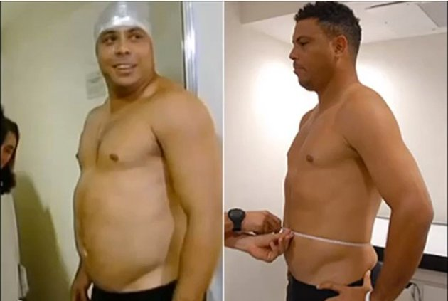 Ronaldo's before and after shots (youtube.com)