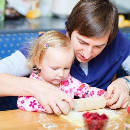 Give Your Toddler A Chance To Cook