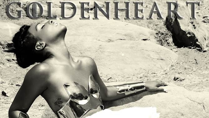 "This CD cover image released by 101 Distribution shows ""Goldenheart,"" by Dawn Richard. (AP Photo/101 Distribution)"